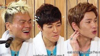 Happy Together - Park Jinyoung, K.will, Seo Jiseok & Han Eunjeong! (2013.12.18)