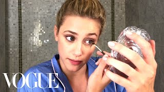 Riverdale Star Lili Reinhart's Guide to Fresh-Faced Makeup | Beauty Secrets | Vogue