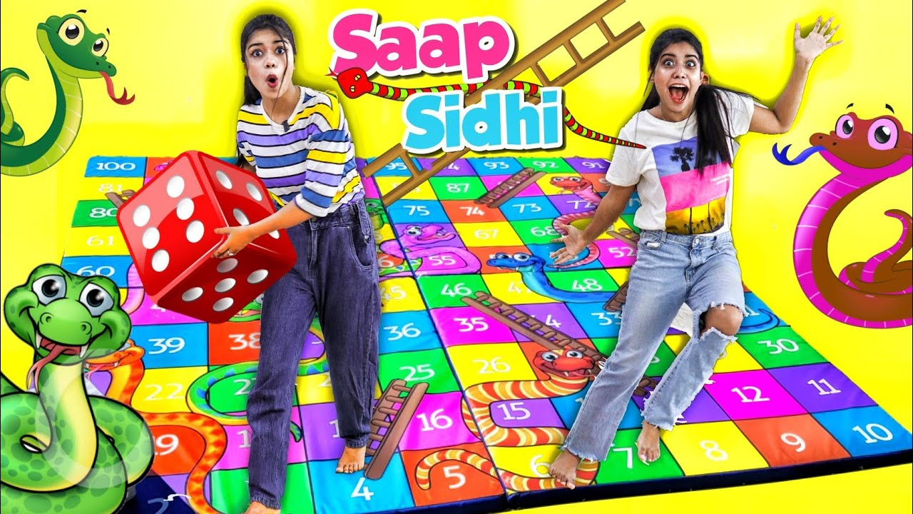 Playing Snakes & Ladders in REAL Life! *Extreme Dares🤣* PART-3
