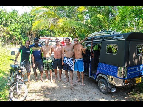 surfing trip sri lanka 2018