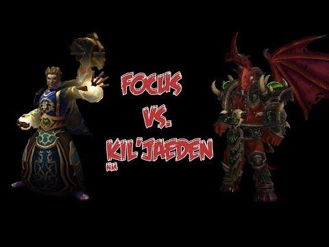 Focus vs. Kil'jaeden Normal - Shadow Priest PoV