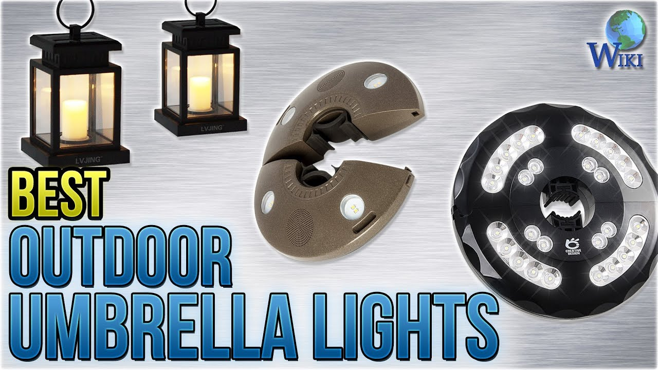 9 Best Outdoor Umbrella Lights 2018
