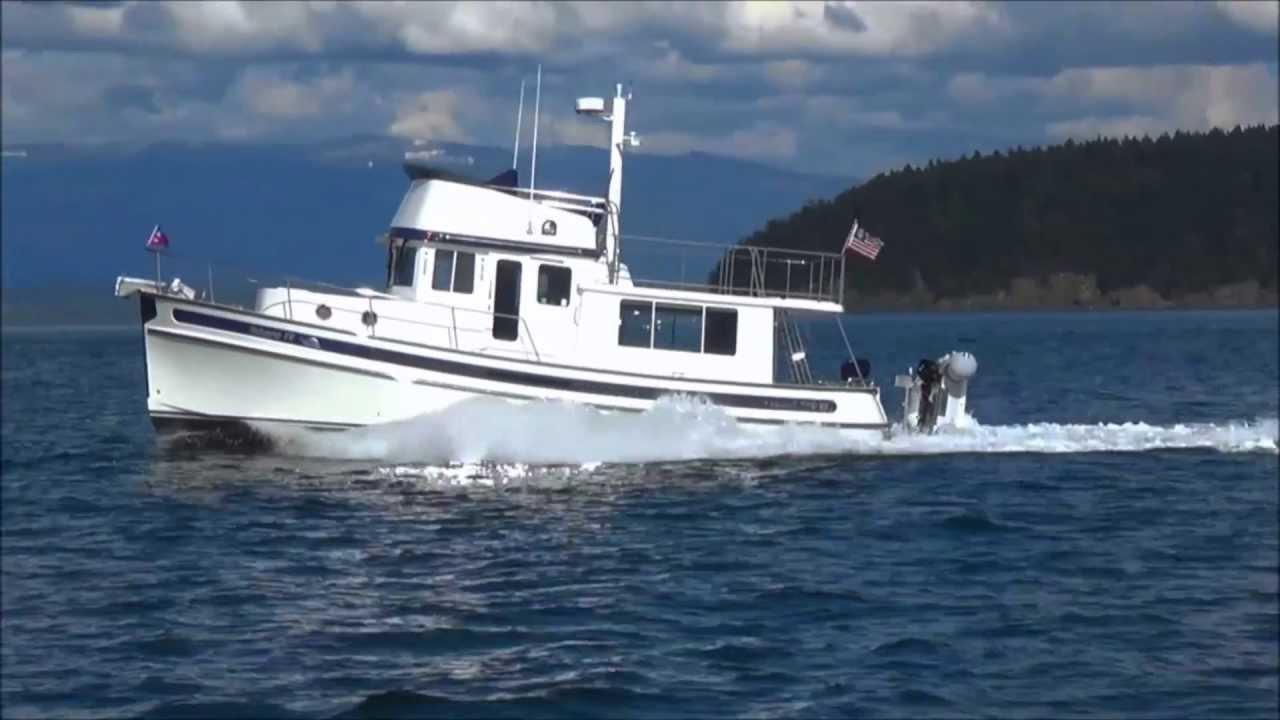 Nordic Tug 39 - Gateway IV Running Video - Gateway Yachts