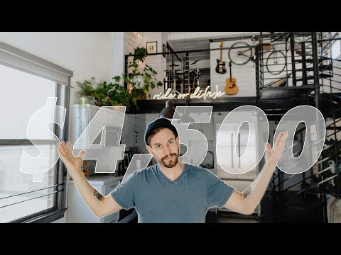 What $4,500 Gets You in LA | Loft Apartment Tour