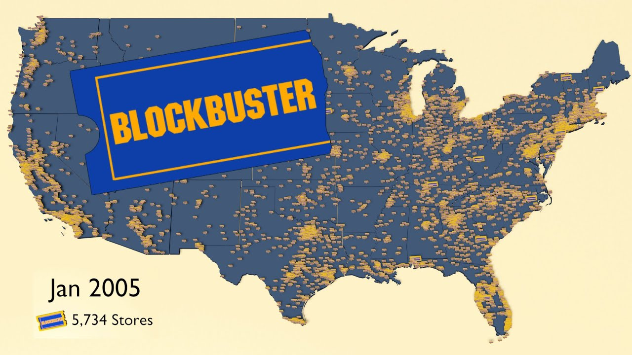 Download Map of the Rise and Fall of Blockbuster Video