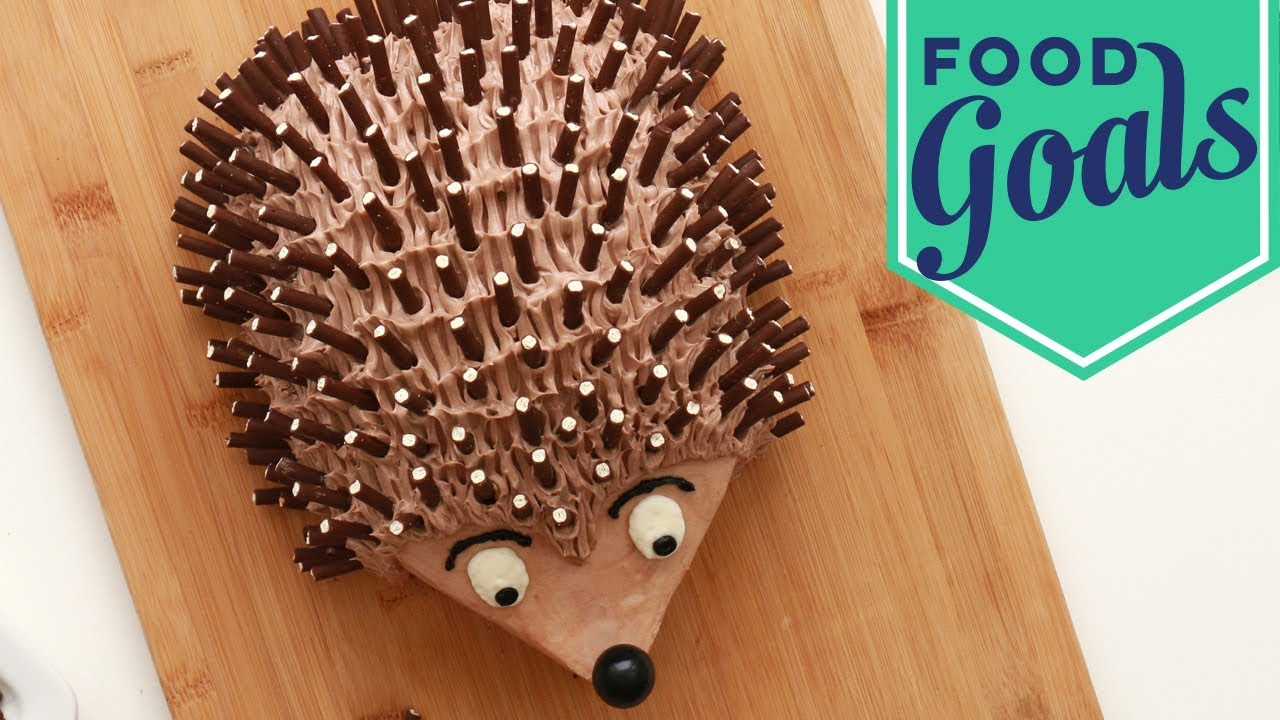 Hedgehog Cake Food Network Youtube