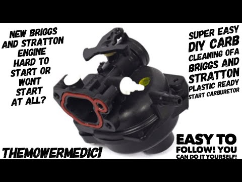 LAWN MOWER RUNS AND DIES? / EASY DIY CARB CLEANING / BRIGGS AND STRATTON / CRAFTSMAN / MURRAY / MTD