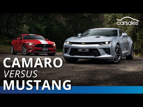 2019 Chevrolet Camaro V Ford Mustang Comparison | Carsales