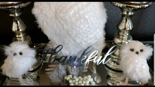 💎🍁🍂Fall Tiered Tray Challenge hosted by Arlynn Country Craft Corner| |Fall Glam Decor