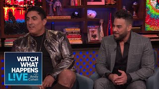 Reza Farahan And Adam Neely's Baby Status | Shahs of Sunset | WWHL