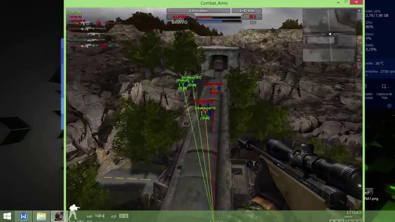 hacker para combat arms 2012 atualizado gratis