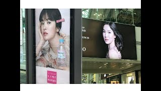 ♡Our bride Kyo's many advertising Bilboard🌷