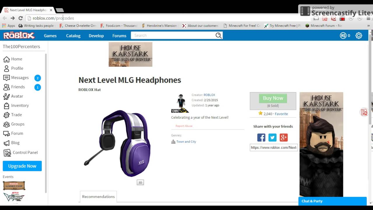 [CODE EXPIRED] How to get the Next Level MLG Headphones ...