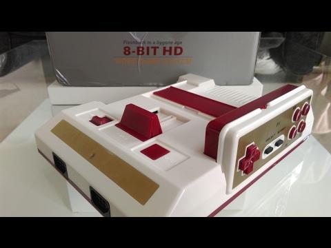 Famiclon 8 Bit HD z wyjściem hdmi + pady bezprzewodowe od HAMY