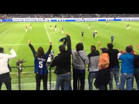 Best fc inter goals live recorded by fans! i migliori gol dell'inter live!