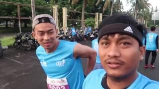 HiVLOG #16: FUN RUN LOMBOK MARATHON 2016 | Rasakan Sensasi Lari di Lombok | Indonesia