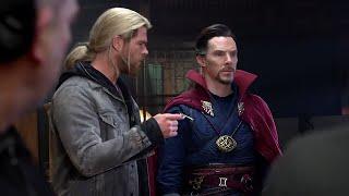 Thor Ragnarok Deleted Scenes - Doctor Strange and Yondu on Asgard Funny Moments Explained