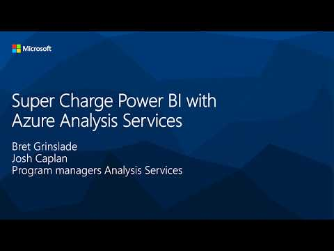 Super Charge Power BI with Azure Analysis Services