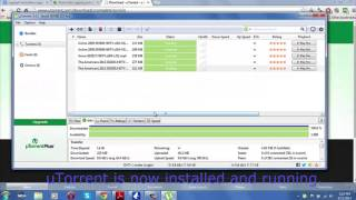 How to install uTorrent and download TV Shows
