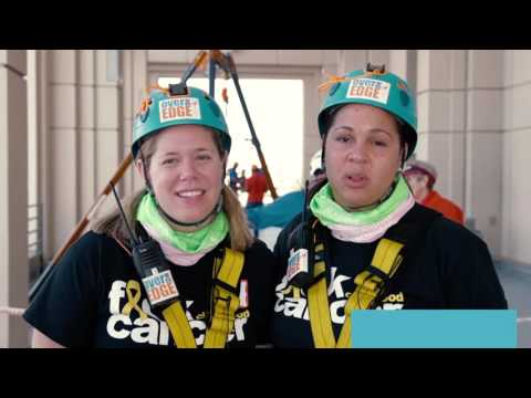 2016 Over the Edge for Brain Cancer San Diego