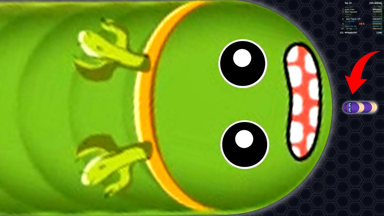 Wormate.io Noob Vs Pro Epic Giant Worm Grow Fastest Wormateio Best Gameplay Moments/Epic !!