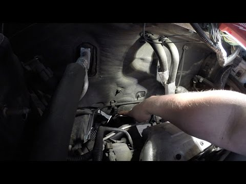 Ford A C Quick Tips 2 Keeping Your A C Drain Clear Youtube