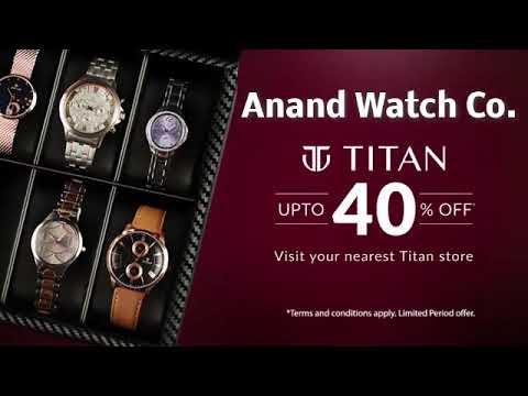 Titan Watches UpTo 40% Off