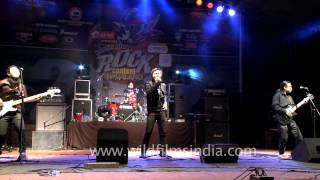 Nagaland Rock fest contestant sets the stage on fire!