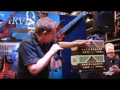 Steve Vai - Carvin Legacy 3 Unveiling: NAMM 2012