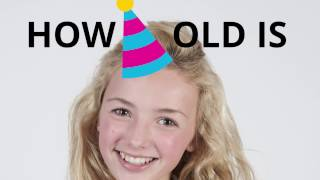 How old is Peyton List? 🍰🎈