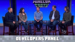 MINECON Earth 2018 - The Minecraft Developers panel!