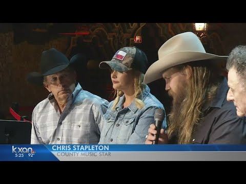 George Strait and other country stars performing in Harvey relief telethon