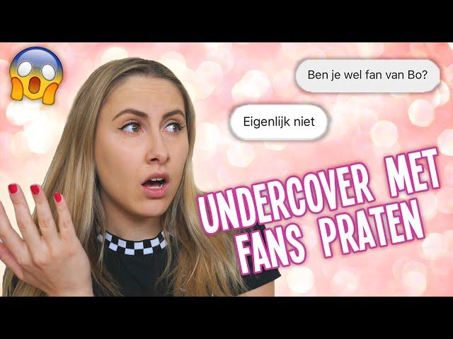 FAN ACCOUNT voor mezelf maken - UNDERCOVER met fans praten 😂 #2