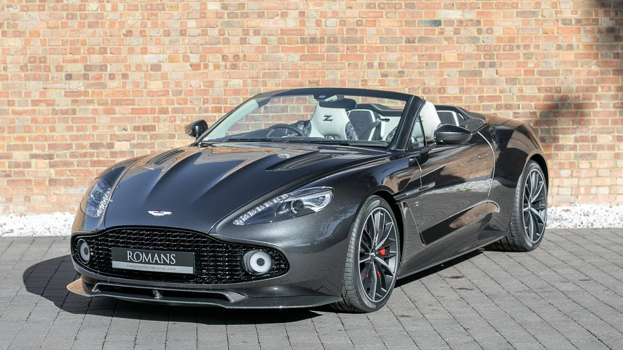 2018 Aston Martin Vanquish Zagato Volante Ceramic Grey Walkaround Interior Loud Revs Youtube