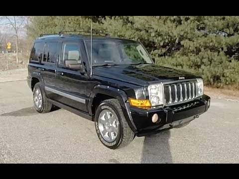 2007 Jeep Commander Limited 4X4|P10663A