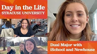 Day in the Life at Syracuse University: iSchool/Newhouse Dual Major  | VLOG
