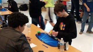 4.90 3x3 Rubik's Cube World Record (Former) - Lucas Etter