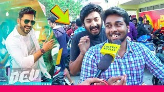 Dev Public Review | Karthi, Rakul Preet Singh | Morattu Singles Reactions on Valentine