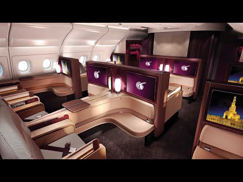 Thumbnail: Qatar Airways A380 First Class Doha to Paris (+Al Safwa lounge)