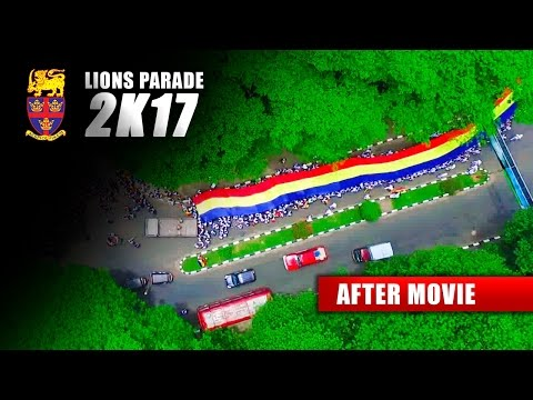 Lions Parade 2K17 - Trinity College Kandy (After Movie)