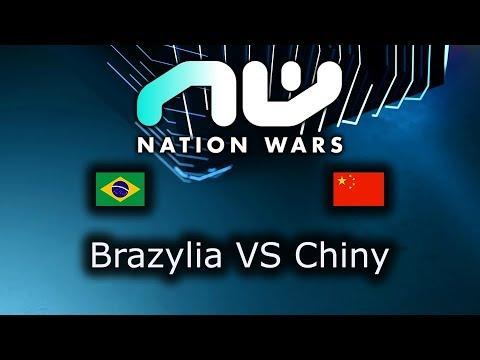 Brazylia VS Chiny - Ro16 Grupa D Mecz 2 - Nation Wars 2019 - polski komentarz