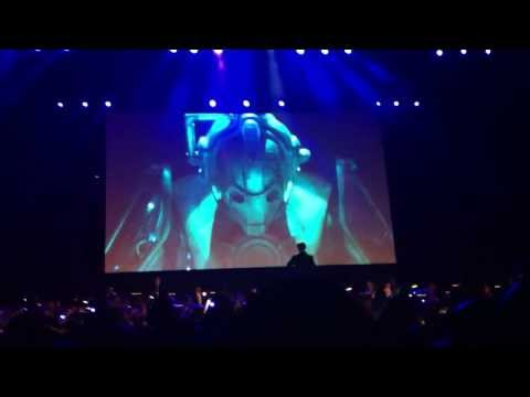 Cyber Shard (1) - Doctor Who Symphonic Spectacular 2014 Melbourne