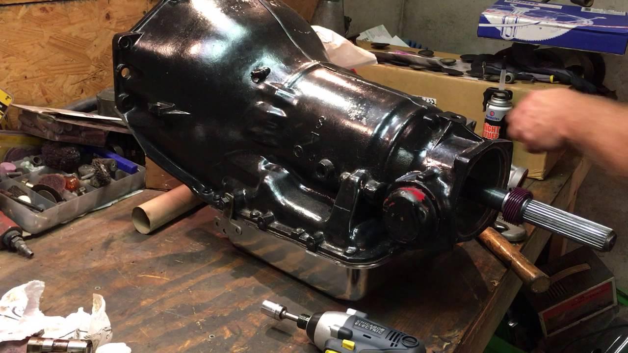 hight resolution of th350 speedometer gear install