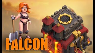 TH10 FALCON Attack Strategy - Tips & Tricks | Clash of Clans