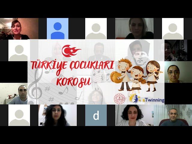 TÜRKİYE ÇOCUKLARI KOROSU TANIŞMA WEBİNARI