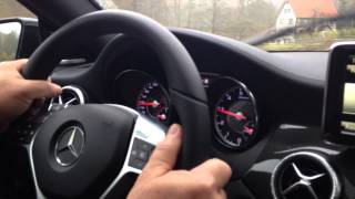 CLA 45 AMG Ride & Drive in Affalterbach, Germany