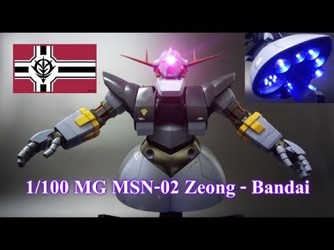 1/100 MG MSN-02 Zeong (Bandai) Custom Build with LED
