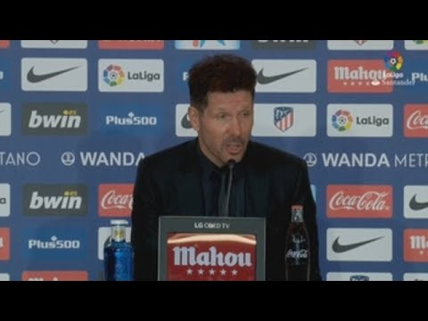 """Simeone está """"a muerte"""" con sus jugadores"""