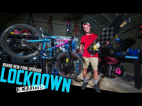 custom-new-forks-on-my-dirt-jump-bike!!