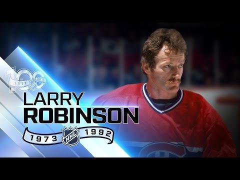 Larry Robinson vital cog on six Cup-winning teams